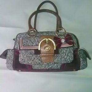 Coach Tweed Bag No # C052-8F03